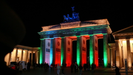 Festival of lights in Berlin 2009