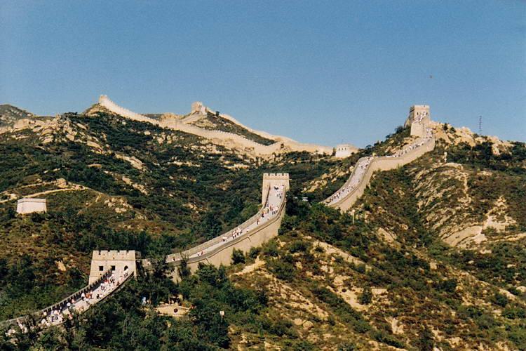 China Mauer Länge