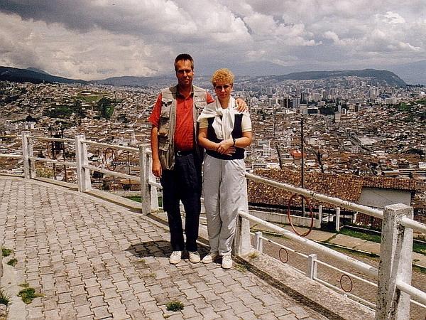 ecuador galapagos rundreise 1991 flug berlin frankfurt bogota quito elke und. Black Bedroom Furniture Sets. Home Design Ideas