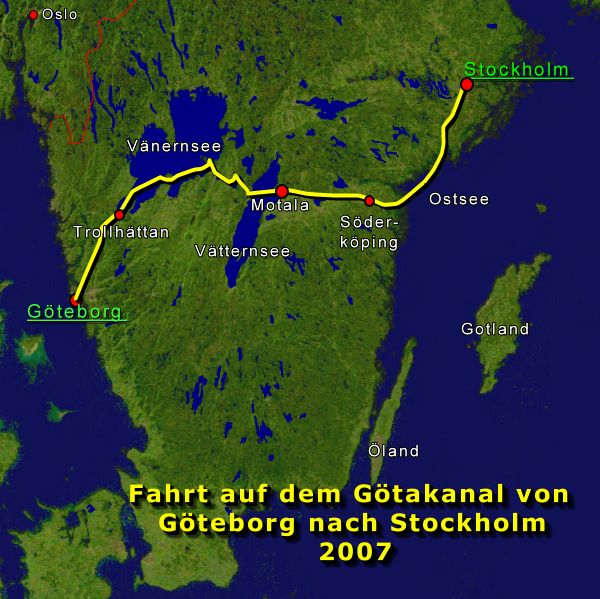 informationen zur reise auf dem g takanal von g teborg nach stockholm 2007 elke und joachim. Black Bedroom Furniture Sets. Home Design Ideas