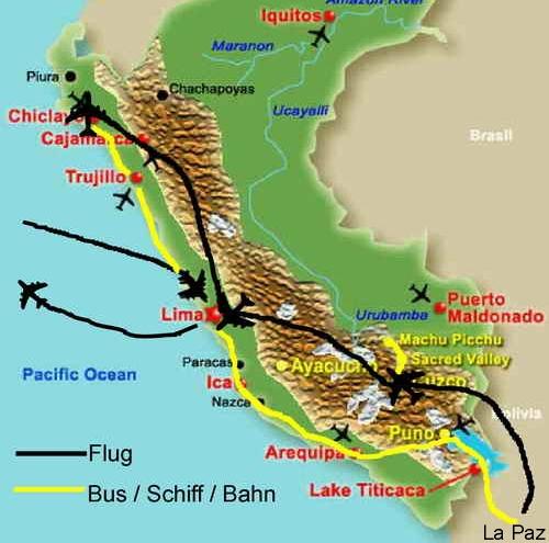 Flughäfen Peru