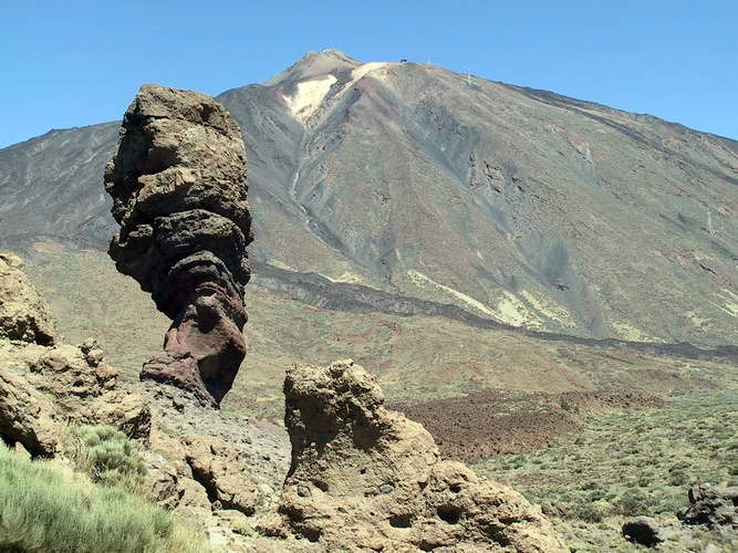 Nationalpark Teide, der Finger Gottes
